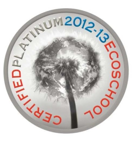 EcoSchool Platinum 2012:2013