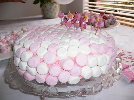 Marshmallow-Cake