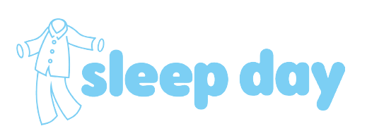 Pyjamas and Sleep Day Logo